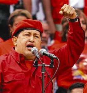 Venezuelan President Hugo Chávez
