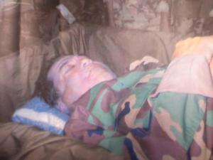 De krant La Nación publiceerde deze foto van de 'dode Tirofijo' enkele maanden geleden. Hij bleek het niet te zijn.