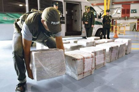 Tons of cocaine have been seized