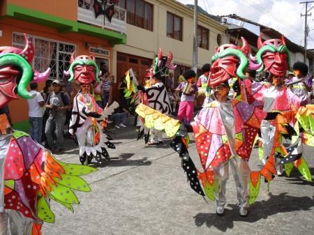 Een van mijn mooiste herinneringen: het Carnaval van Riosucio